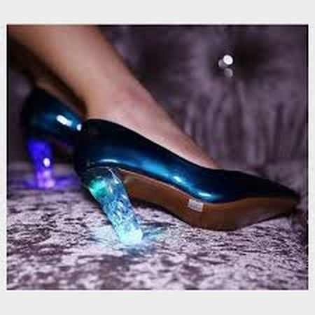 #heartjacking chaussure à talon LED