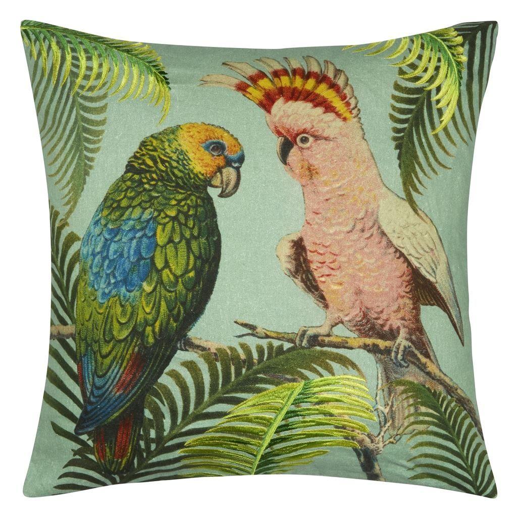 Glorious Parrot Pillow