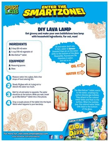 Diy Lava Lamp Get Groovy And Make Your Own Bubblicious