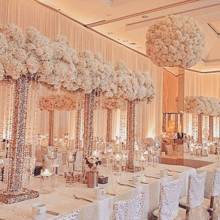 Rose gold with love X table winkdesignandevents