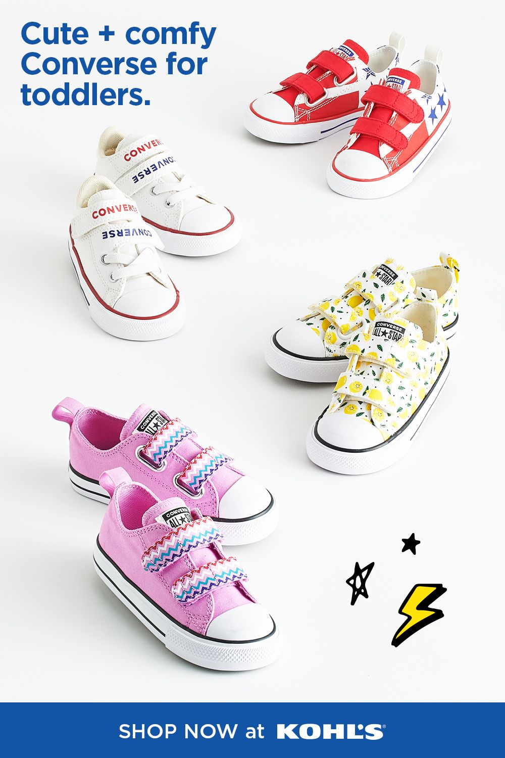 Find toddler shoes at Kohl's. in 2020