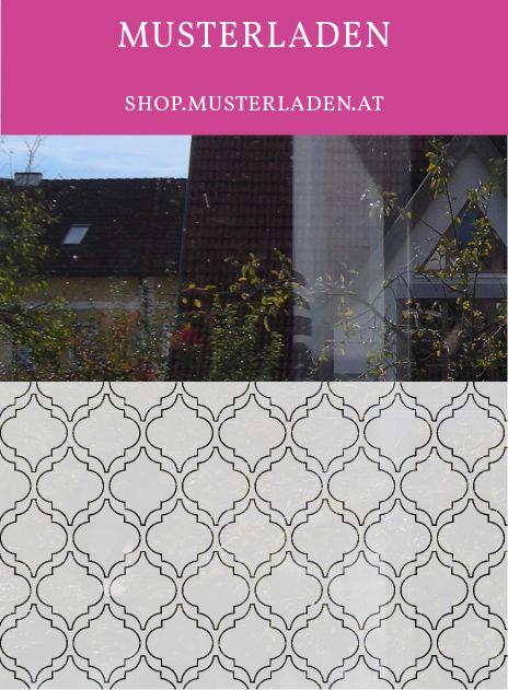 Fensterfolie Sichtschutz Dekoration marokkanisch 2 - folie für badezimmerfenster