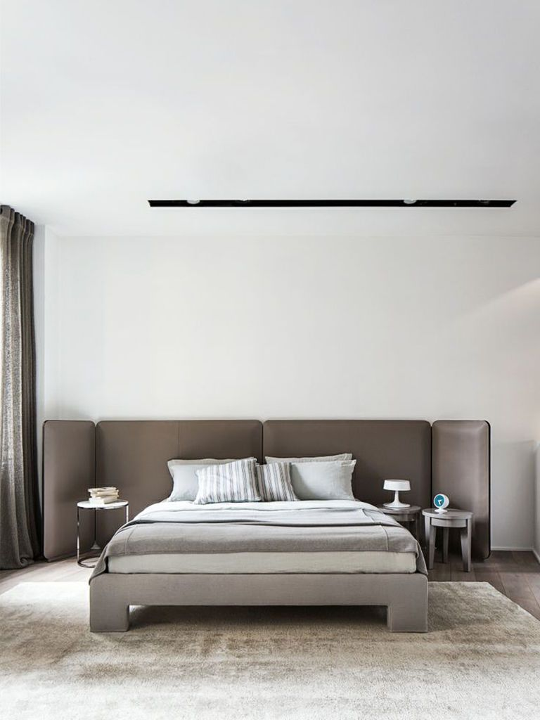 Headboard with leather cover arkpad 床 pinterest bedrooms