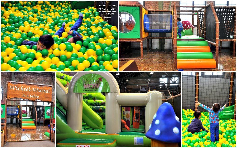 Fabulous Kinderzimmer WichtelWERK Indoorspielplatz M nchen Freiham Kleinkinderbereich
