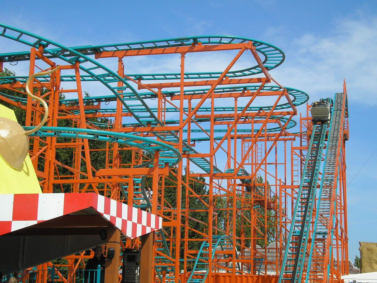 Wild Mouse Coaster Ride