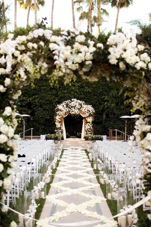 Los Angeles Weddings La Wedding Venue Four Seasons Hotel Wedding Ceremony Decorations Outdoor Outdoor Wedding Wedding Venues