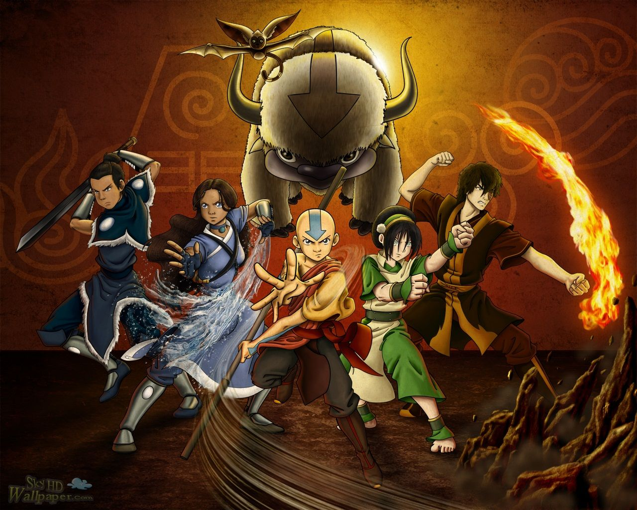 avatar the last airbender hd wallpapers and backgrounds | images