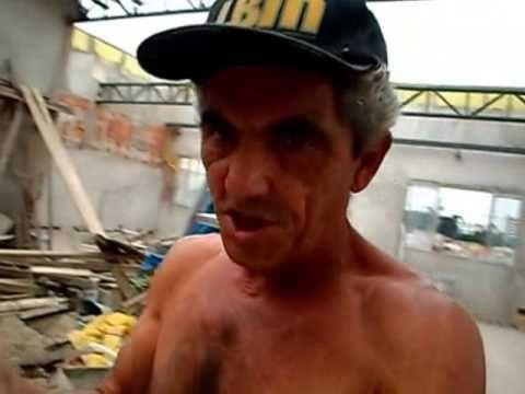 FIM DO ENTULHO COM PAREDES EM BLOCOS ' RUBBLE END WITH WALLS IN BLOCKS '