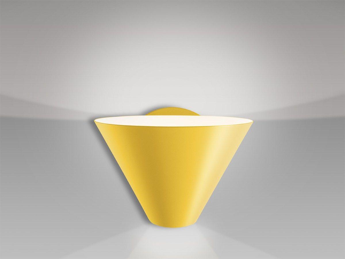 Direct-indirect light wall lamp BILLY WL by J.T. Kalmar design J.T.Kalmar Design Team, Re-edited by Nicolo Taliani