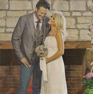 Miranda Lambert Blake Shelton Wedding I Loved The Jean Suit Coat