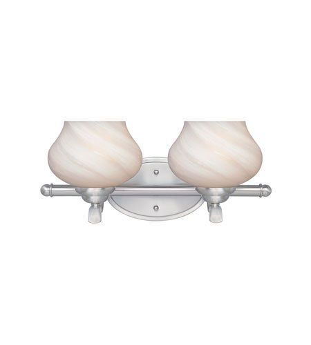 Designers Fountain 82002-SP Moon Shadow 2 Light Bathroom Vanity Lights in Satin Platinum by Designers Fountain. $74.58. This 2 light Bath Bar from the Moon Shadow collection by Designers Fountain will enhance your home with a perfect mix of form and function. The features include a Satin Platinum finish applied by experts. This item qualifies for free shipping! Check the right-hand bar or call our dedicated Sales Team for similar items and additional options not pi...