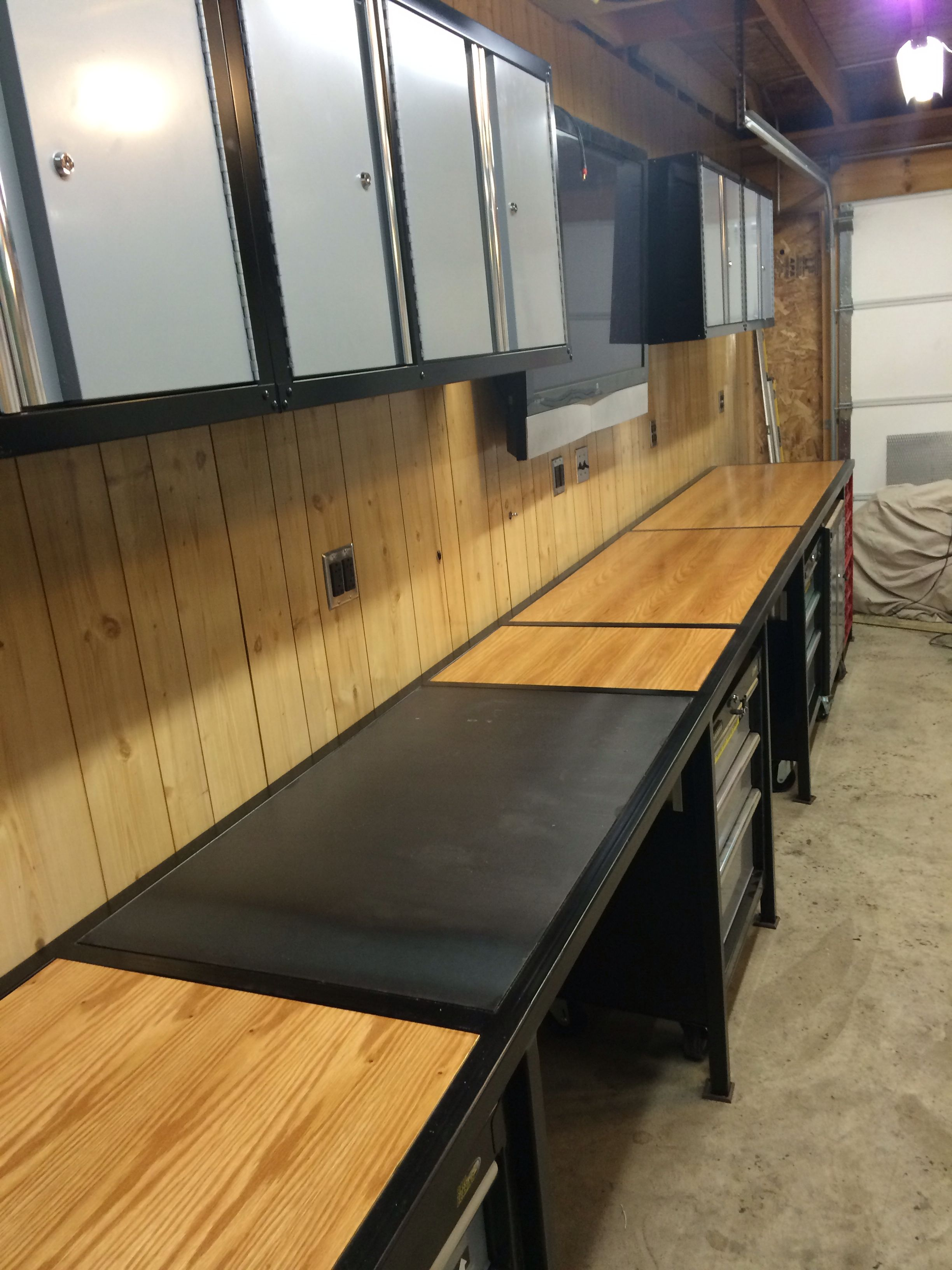 Work Bench 27 Quot X 17 7 Quot Made From 1 1 2 Quot 11ga Square Tube 3