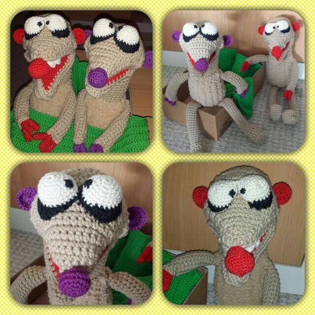 Jan Und Henry Aus Unser Sandmännchen Crochet Meercat Gehäkelte