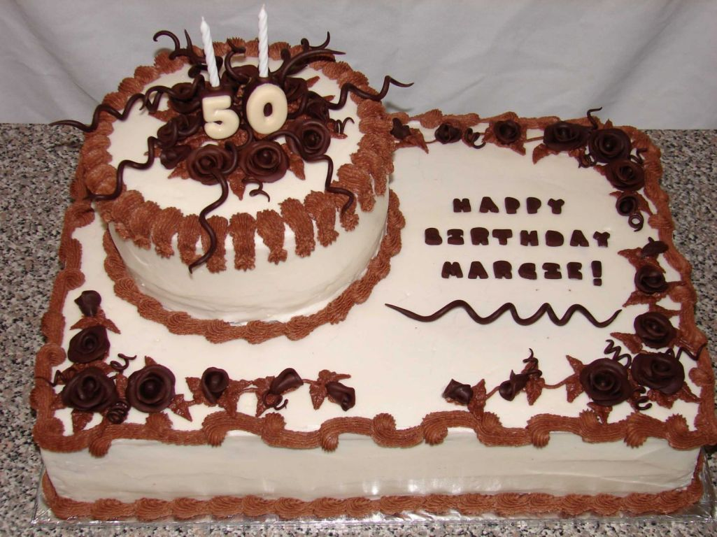 Image of Cake Ideas For 50th Birthday Party Dad 75th Birthday