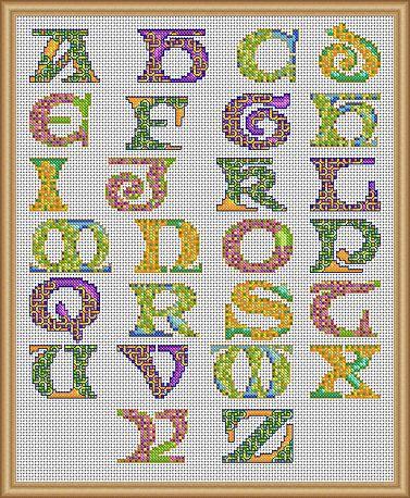 celtic cross stitch alphabet patterns free