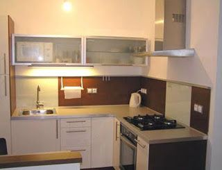 Dekorasi Dapur Kecil Sederhana Minimalis Kitchen Small Modern