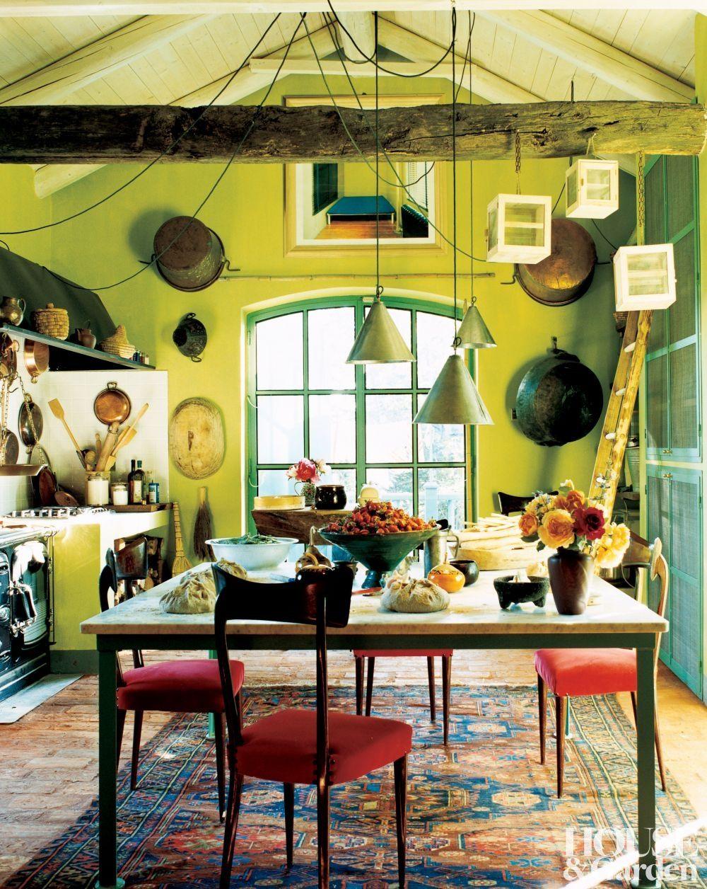 Rustic Kitchen in Piedmont, Italy | interior motives | Pinterest ...