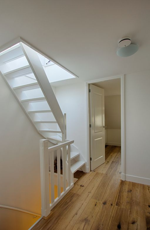 Stairs To Roof Terrace In 2020 Loft Conversion Stairs Attic Stairs Loft Spaces