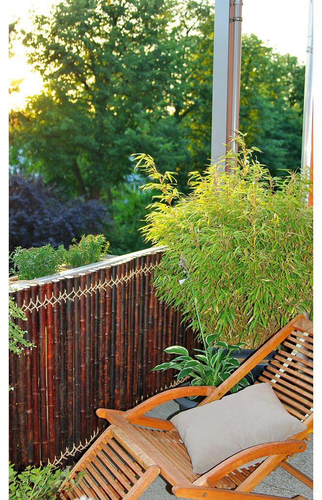 Sichtschutz aus Bambus | selbst.de