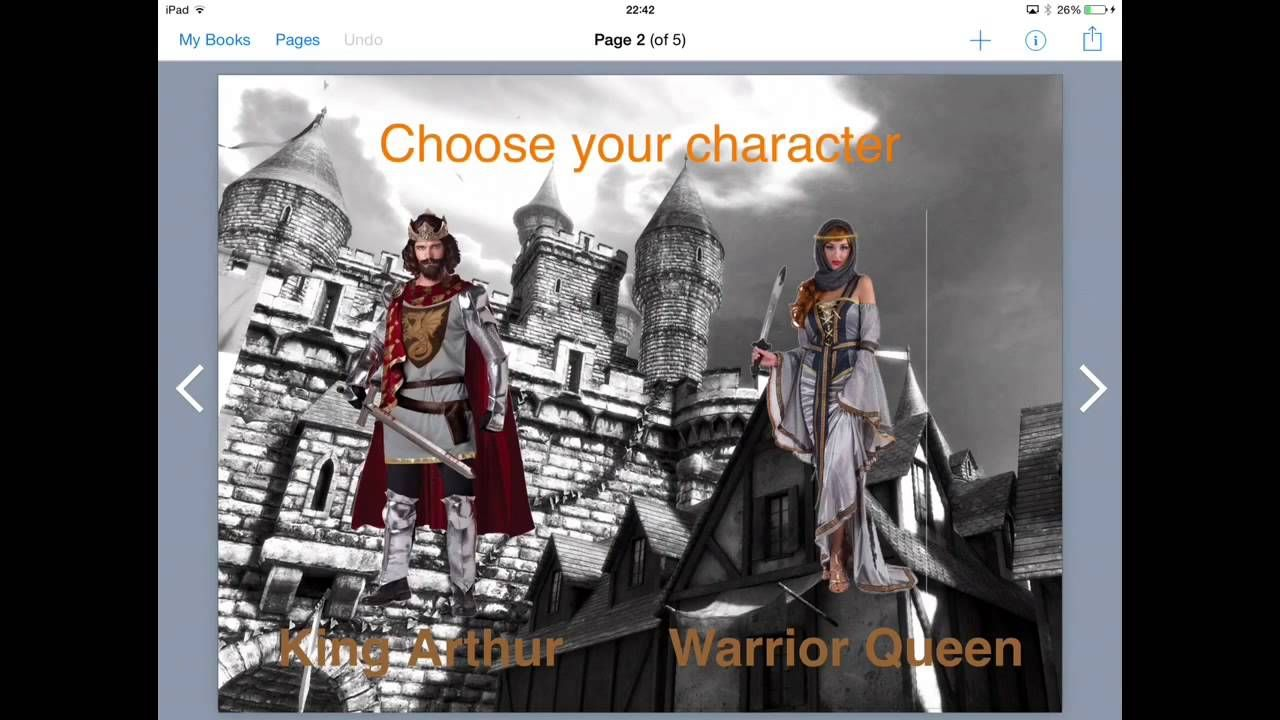 Create Interactive Stories in Book Creator. This video demonstrates how students can 'gamify' a story in Book Creator where the reader can choose the plot. Find more tutorials at www.ipadteachers.com