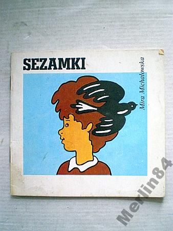 Sezamki Mira Michalowska Seria Z Wiewiorka 5144098817 Oficjalne Archiwum Allegro Vintage Polish Mira Good Old Times