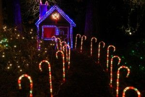candy cane garden walkway lighting playhouse decor girls playhouse christmas yard decorations candy