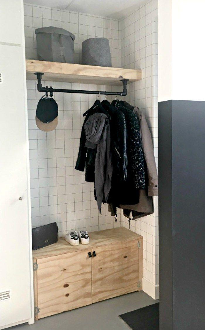 Hallway coat closet  Mooie en praktische hal Lekker veel bergruimte  Hemelryk  Thuis