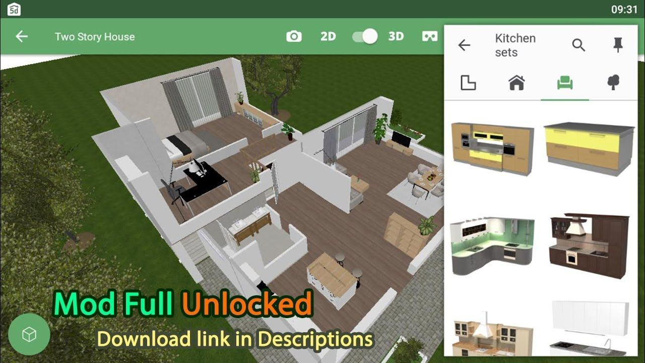 Planner 5d Home Interior Design Creator Mod Apk 1 19 10 Unlocked