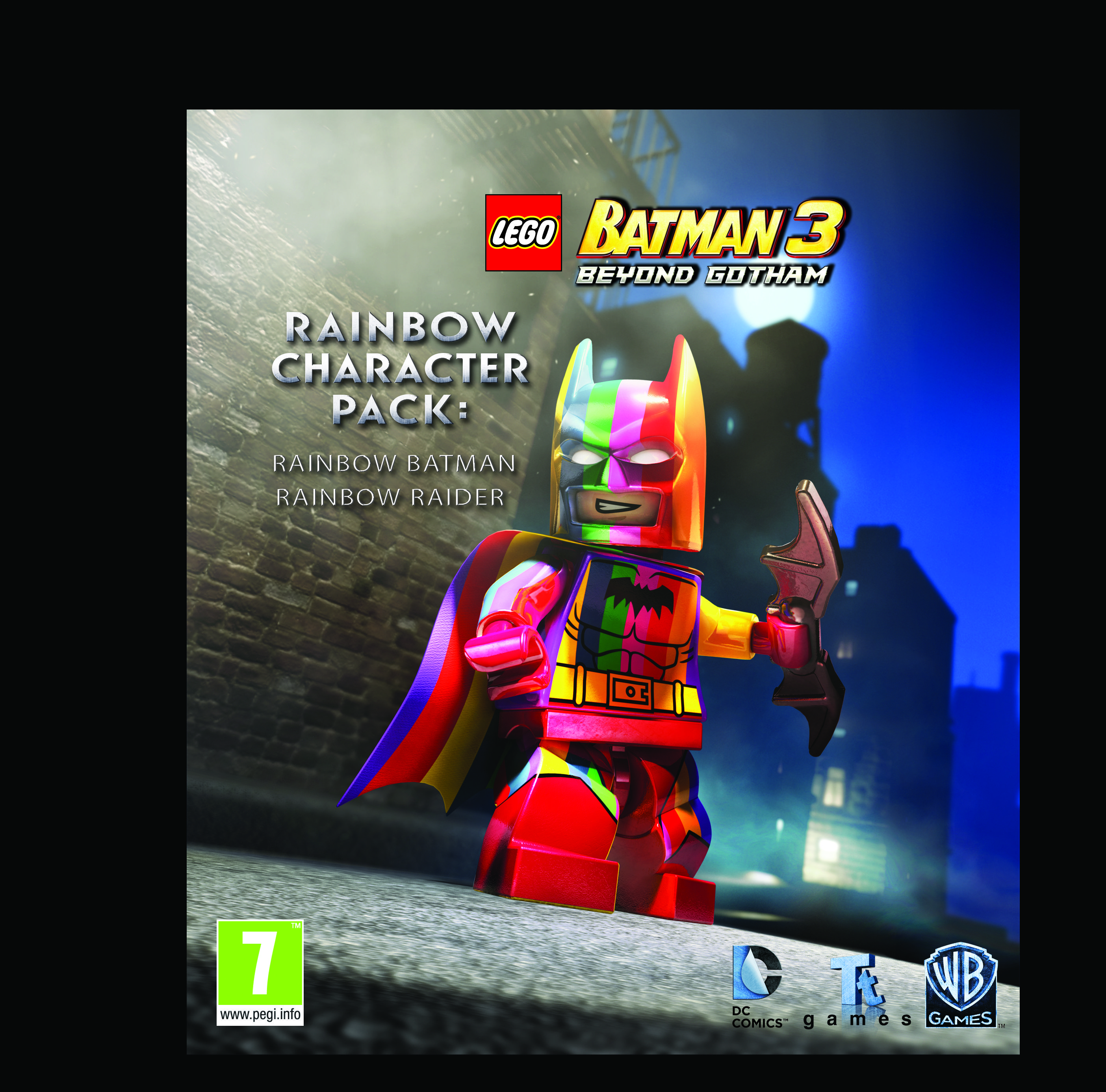 Lego Batman 3 Beyond Gotham Arrow Dlc Pack Available Tomorrow Rainbow Character Pack Detailed Lego Batman 3 Lego Batman Lego