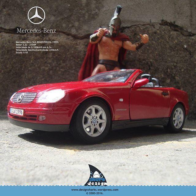 Esse Rei Leônidas resolveu  começar a semana de conversível, que tal?  #mercedes #mercedesbenz #slk230 #mercedesbenzslk230kompressor #amg #mbslk #leonidasking #spartan #sparta #design #productdesign #leonidasdesigner