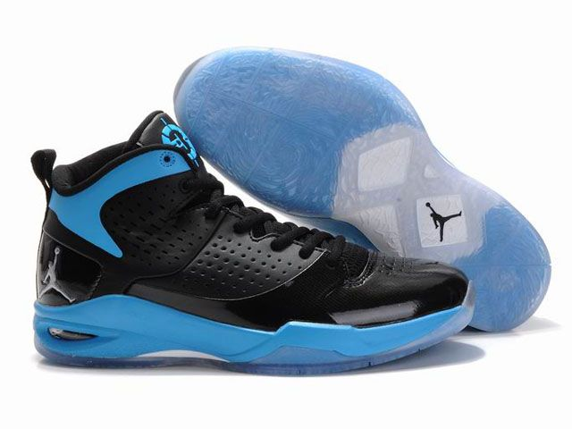 Air Jordan Fly Wade Black Blue Men's Shoes