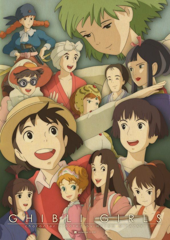 Studio Ghibli Studio Ghibli Characters Studio Ghibli Movies Ghibli