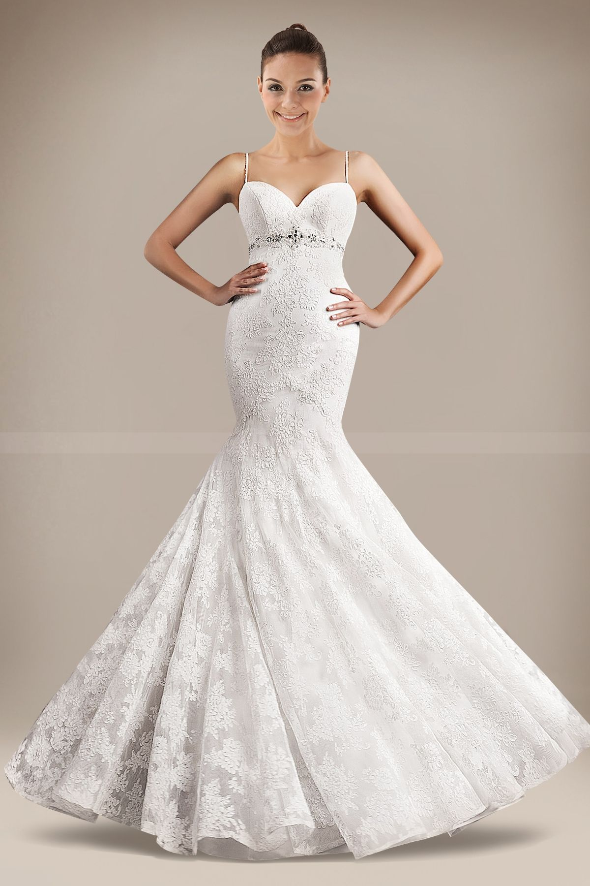 Wedding dress with bow on back  Love this  my own wedding  Pinterest  Mermaid Mermaid silhouette