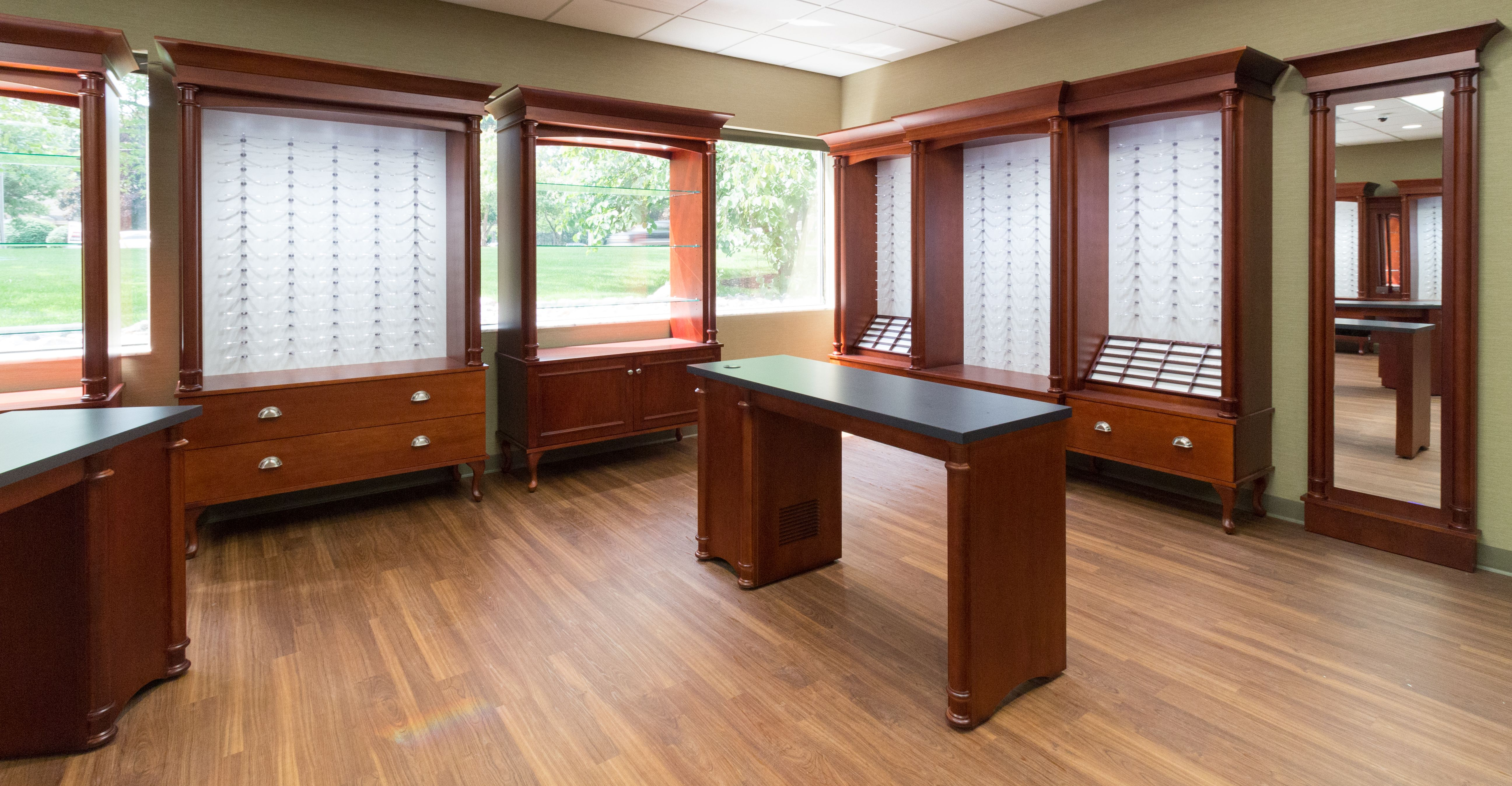 Eyeglass Display Cabinets