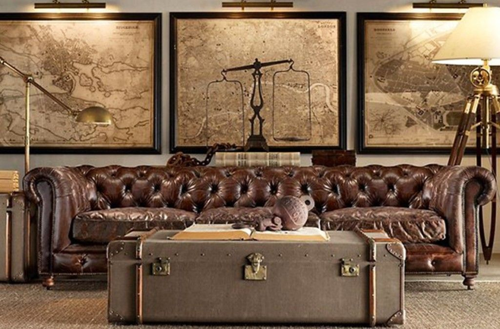 Cool Steampunk Bedroom Interior Decorating Design Ideas Industrial