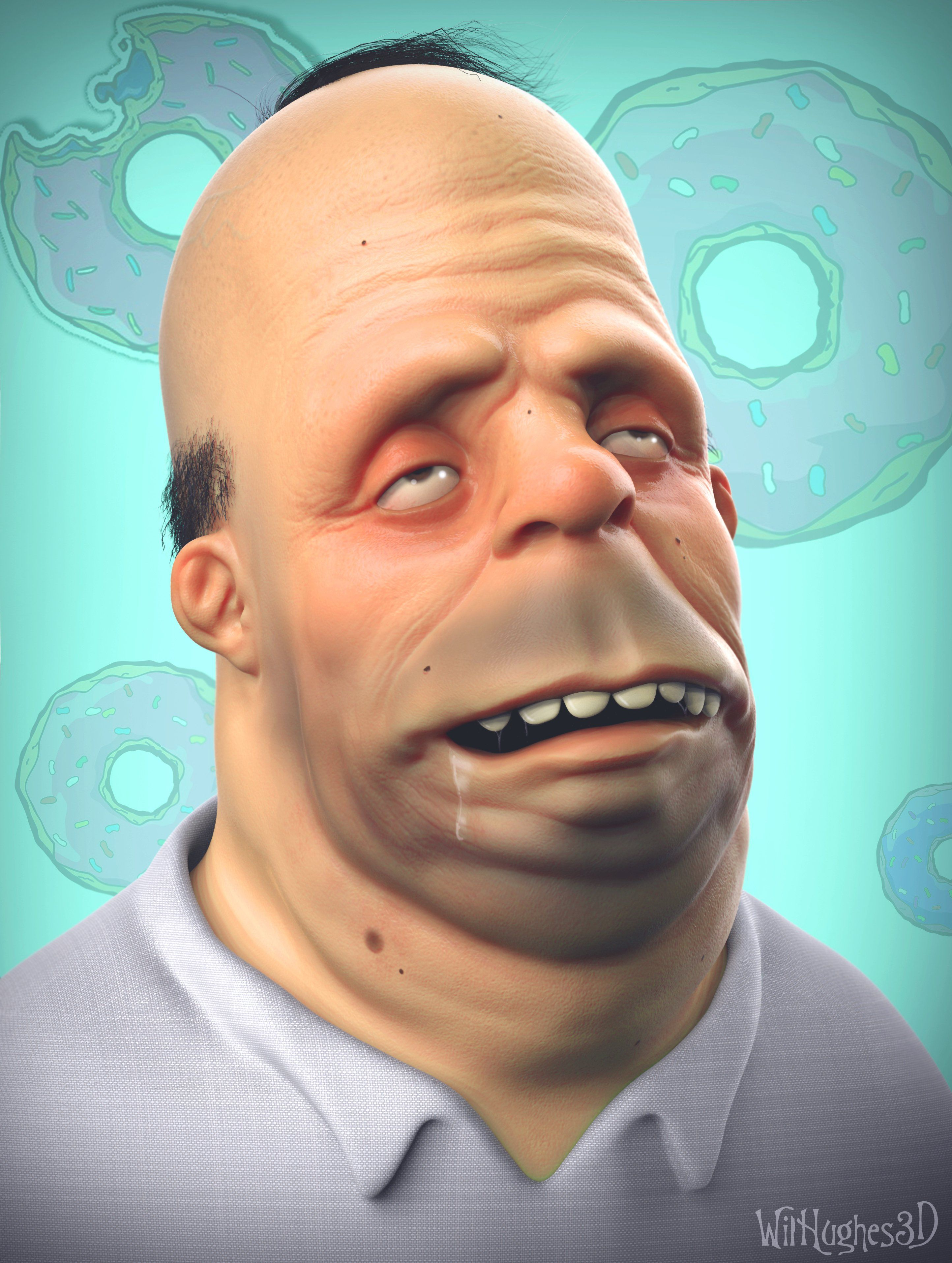 Homer Simpson Funny Face : homer, simpson, funny, Image, Result, Cartoon, Funny, Character,, Favorite, Realistic, Cartoons