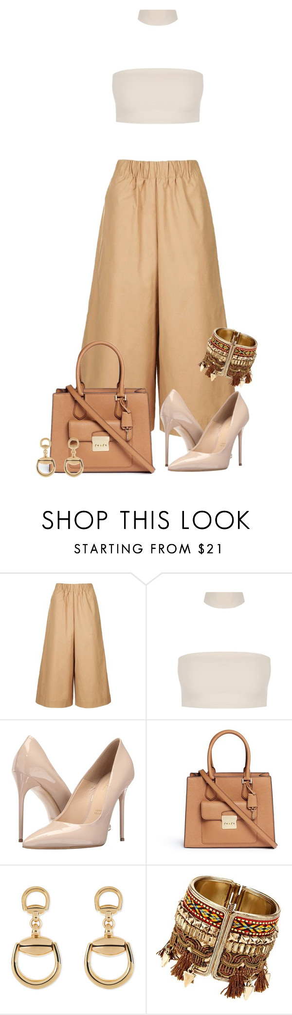 """3"" by silverboybeth on Polyvore featuring Topshop, Massimo Matteo, Michael Kors and Gucci"