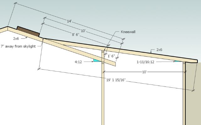 Framing A Roof With Change Of Pitch Google Search Roof Framing Patio Roof Front Porch Design