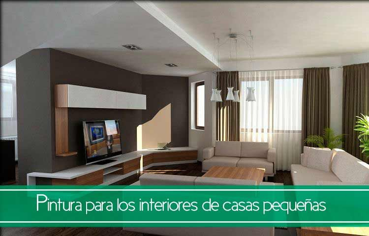 Tips de pintura para los interiores de casas pequeñas - Trucos y