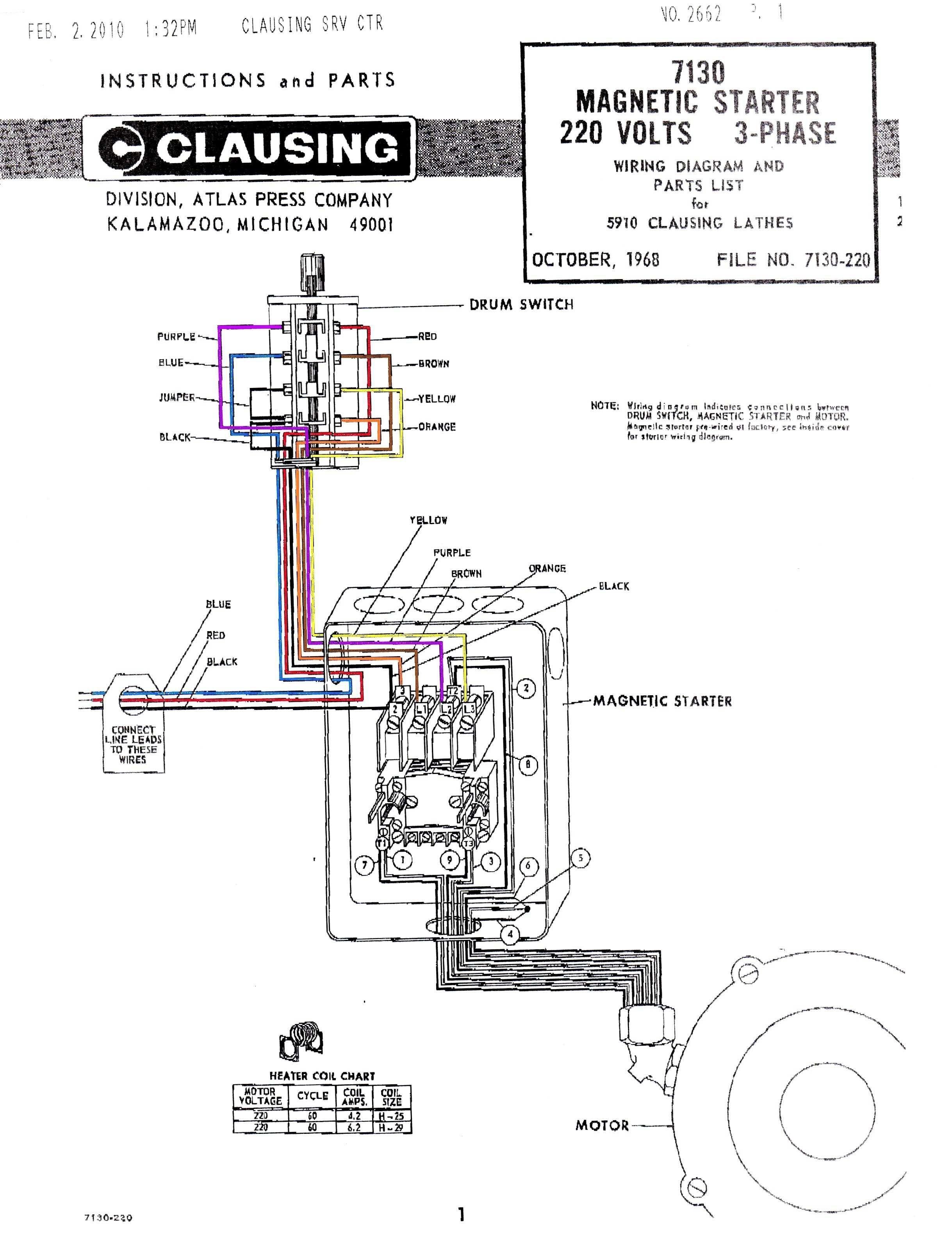 Square D Motor Starter Wiring Diagram Unique Ponent Motor