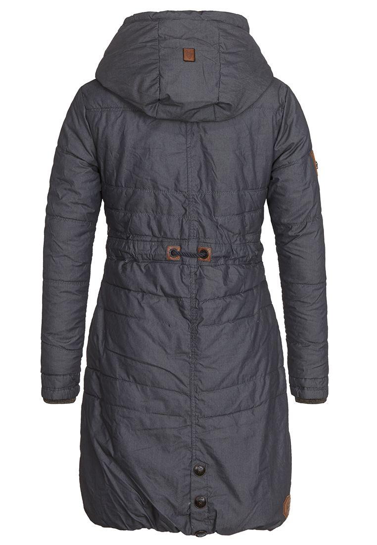 Dlouhá zimní bunda s kožíškem Naketano  3b6da7c33cd