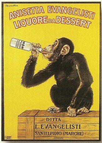pub retro alcool anisette evangelisti vintage advertising pinterest affiches publicitaires. Black Bedroom Furniture Sets. Home Design Ideas