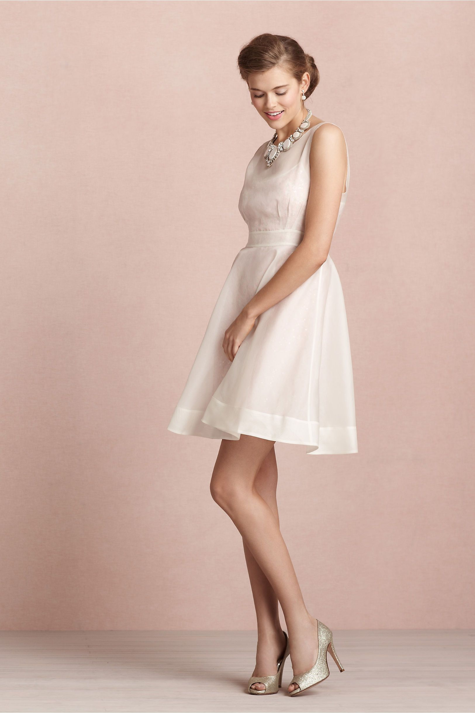 Moonlit Peep-Toes in Shoes & Accessories Shoes at BHLDN | vestidos ...