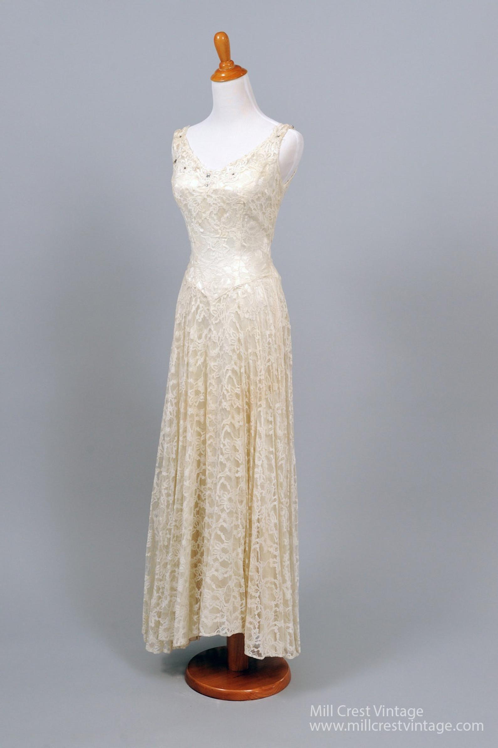 Abiti Da Sposa 1950.Vestiti Abiti Da Sposa E Coordinati 1950 Lace And Rhinestone