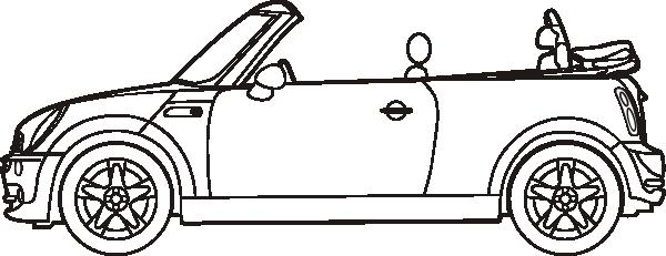 Free Vector Mini Cooper Convertible Clip Art Mini Cooper Convertible Mini Cooper Mini Cabrio
