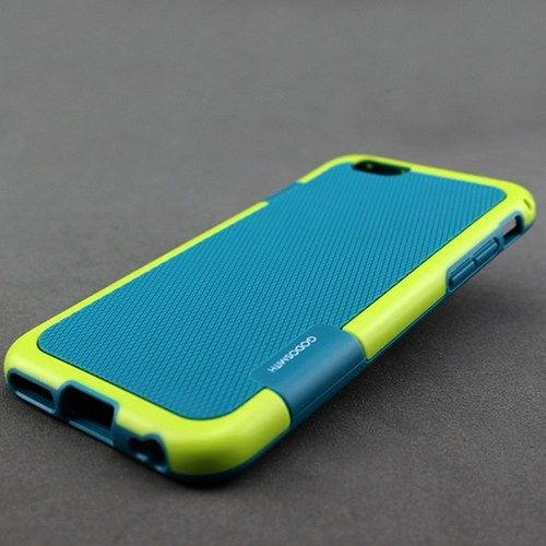 Iphone 6 case Soft Silicone Back Case Cover (Blue)