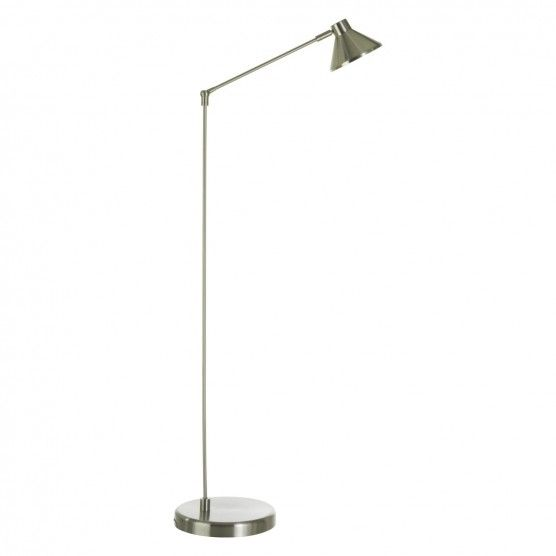 Bobby silver brushed metal floor lamp bobby silver brushed metal floor lamp buy now at habitat uk