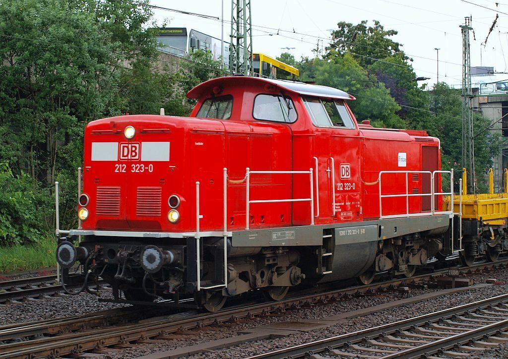 BR 212 Deutsche Bahn AG Fahrwegsdienste Deutsche bahn