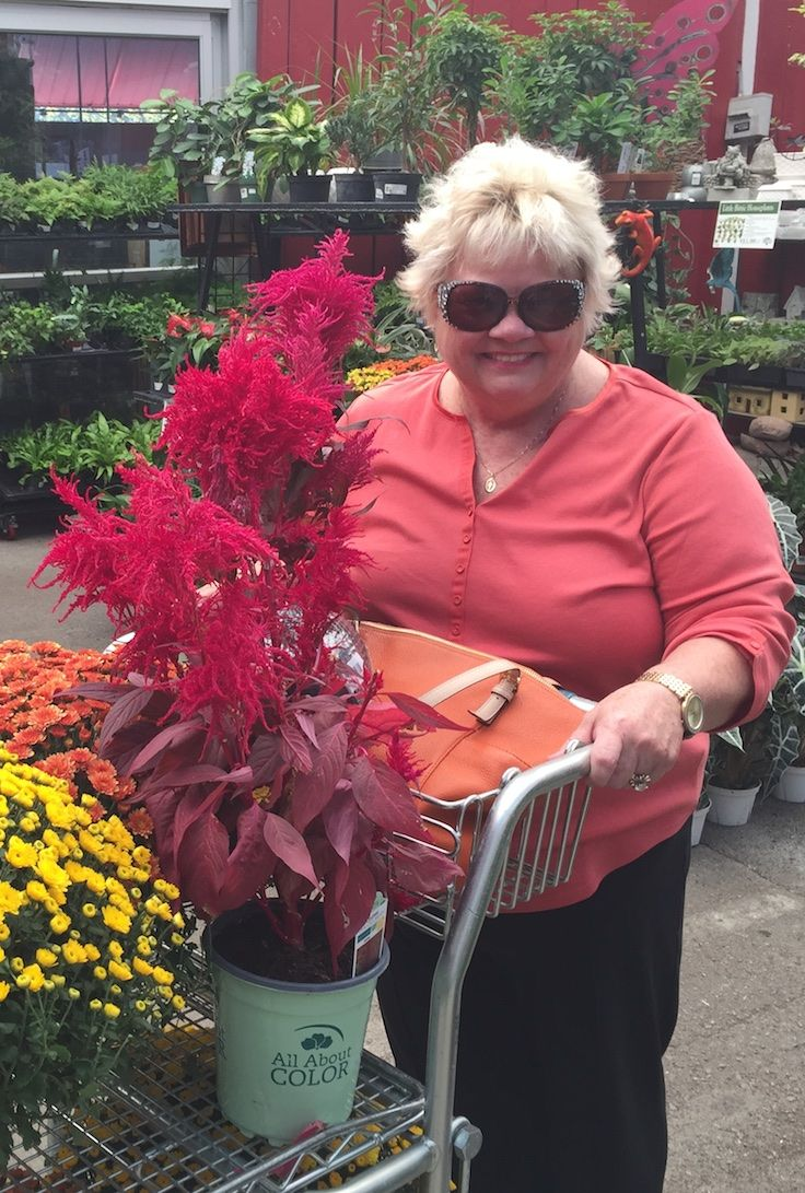 We love our Savannah visitors!  Thank you for visiting The Barn Nursery during our abundance of fall flowers and colorful accessories!  The Barn Nursery, Chattanooga!  102816