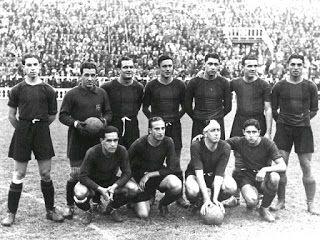 EQUIPOS DE FÚTBOL: BARCELONA 1935-36